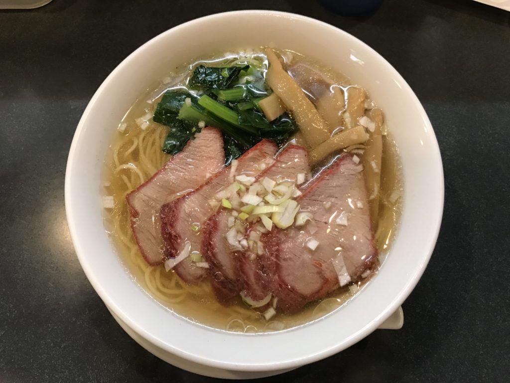 揚州麺房のチャーシュー麺