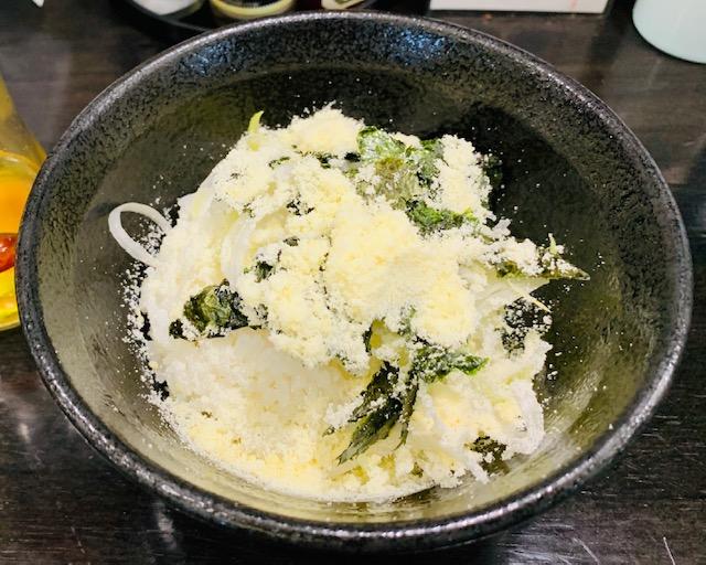地鶏soba十五屋の鶏白湯リゾット