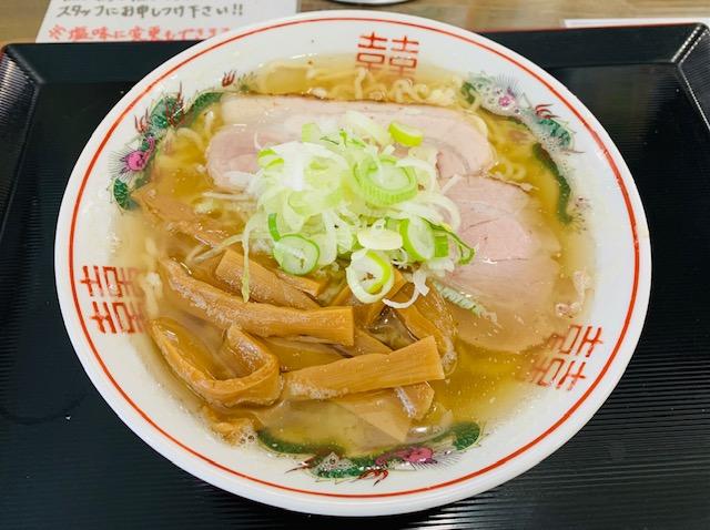 弘前大勝軒の煮干しラーメン塩