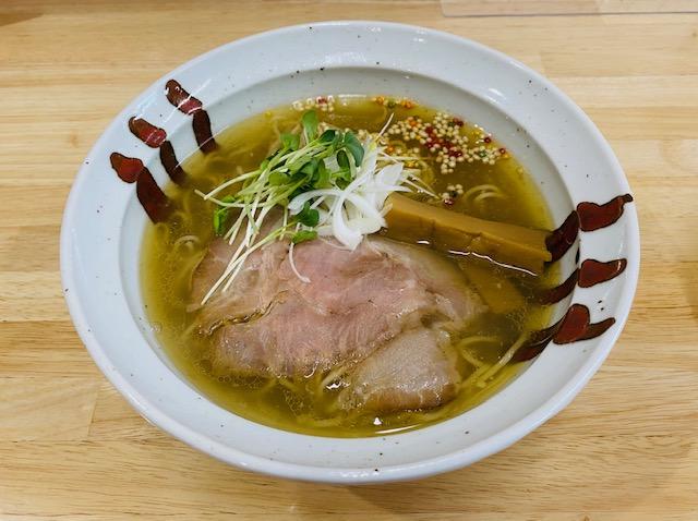 麺喰厨房EVO2の塩拉麵