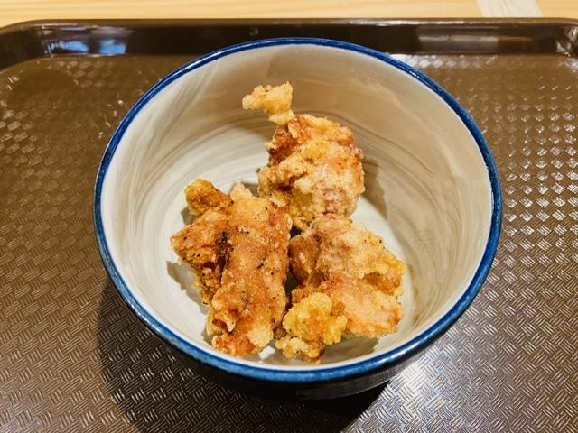 八甲田麵業Rの鶏の唐揚げ(3個)