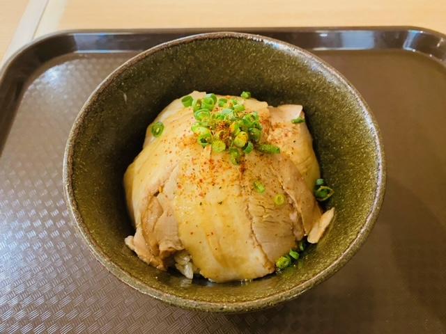 八甲田麵業Rのチャーシューご飯