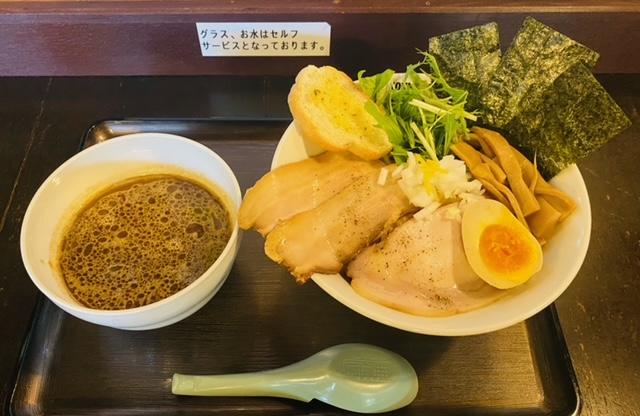 煮干結社の濃厚魚介つけ麺スペシャル