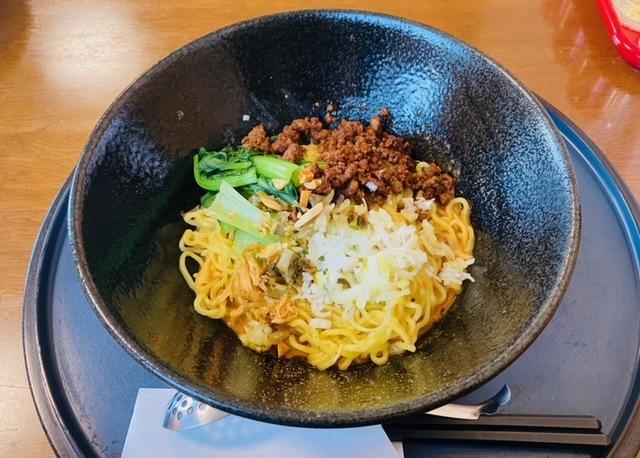 中華厨房たんたんの汁なし担々麵
